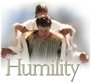 Clothe yourselves with humility