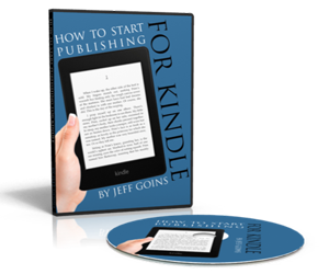Goins How to Start Publishing For Kindle
