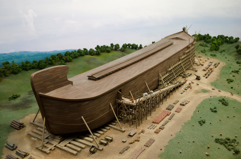 Noahs Ark Replica Model At Creation Evidence Museum Of