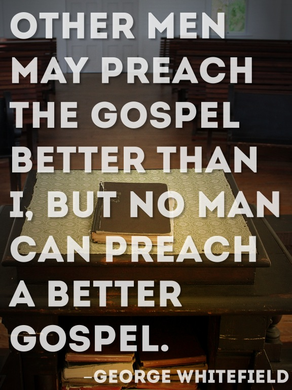 """""""I preached as never sure to preach again..."""" (Richard Baxter)"""