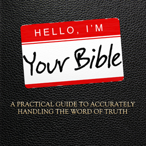 Hello, I'm Your Bible