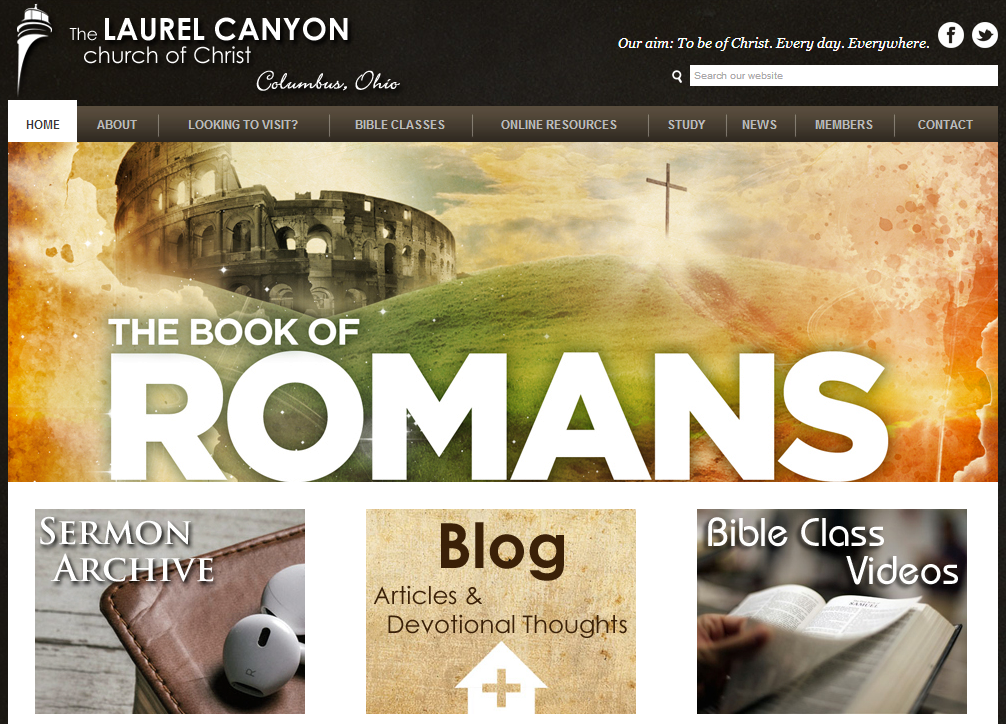 Laurel Canyon church of Christ Website