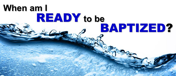 Baptism Am I Ready