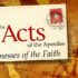 Acts of the Apostles Class Background