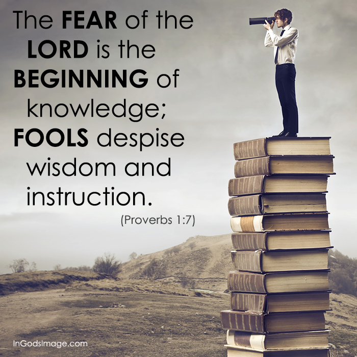 Proverbs 1: The Beginning of Knowledge