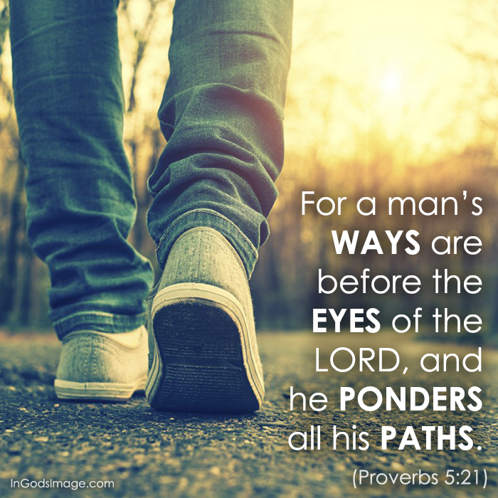 Weekend Wisdom – Proverbs 5:21