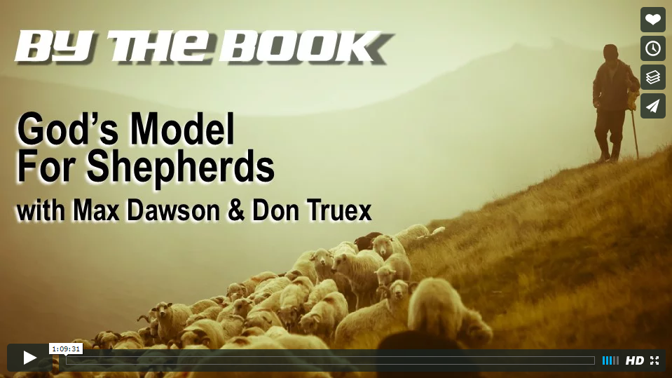 God's Model for Shepherds