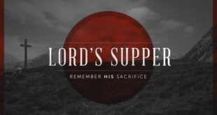 Reflections for the Lord's Supper in 2017