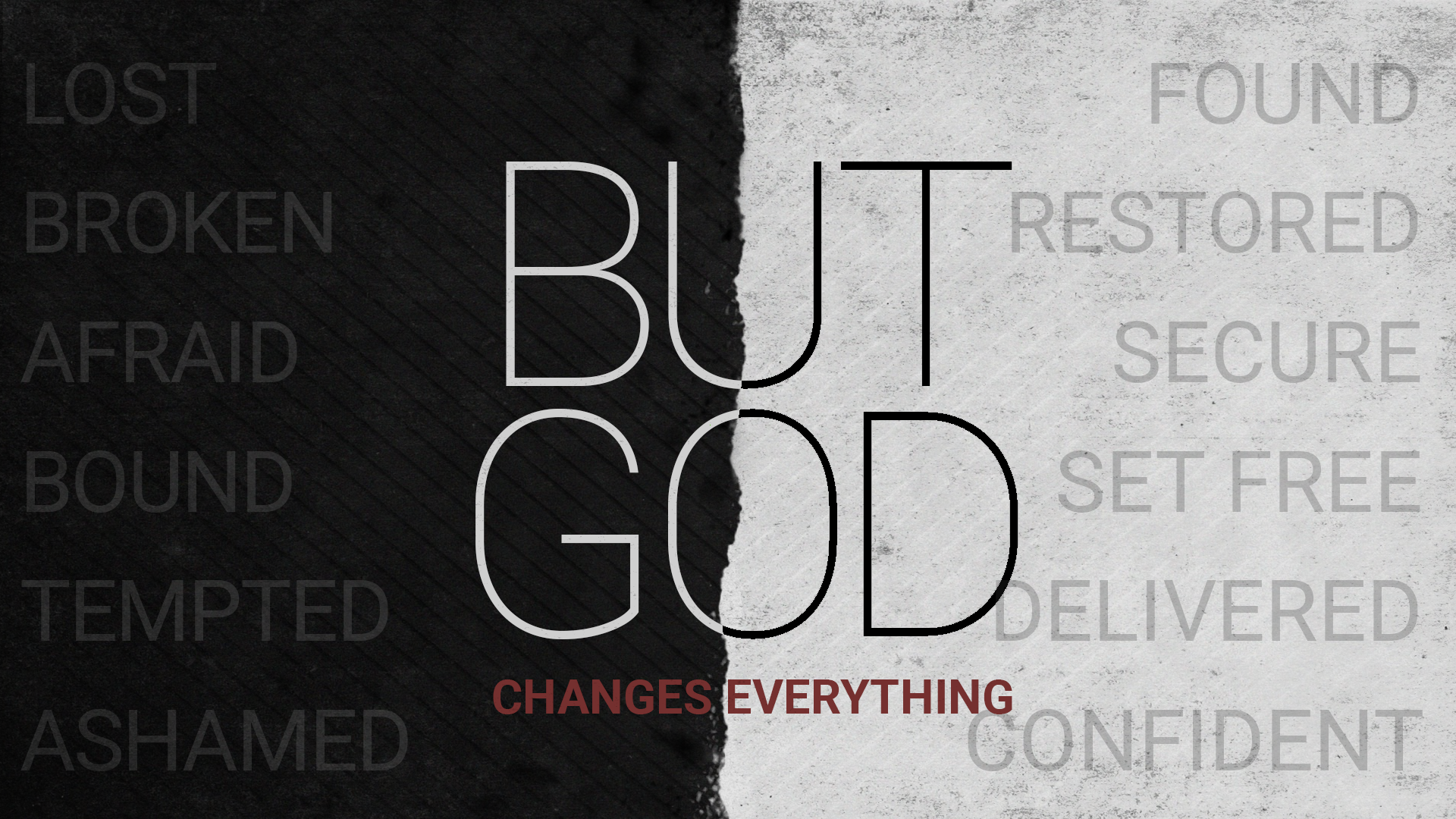 But God: Changes Everything