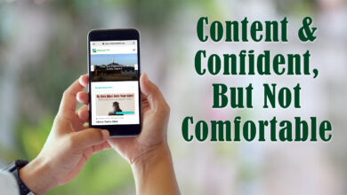 Photo of Content & Confident, But Not Comfortable