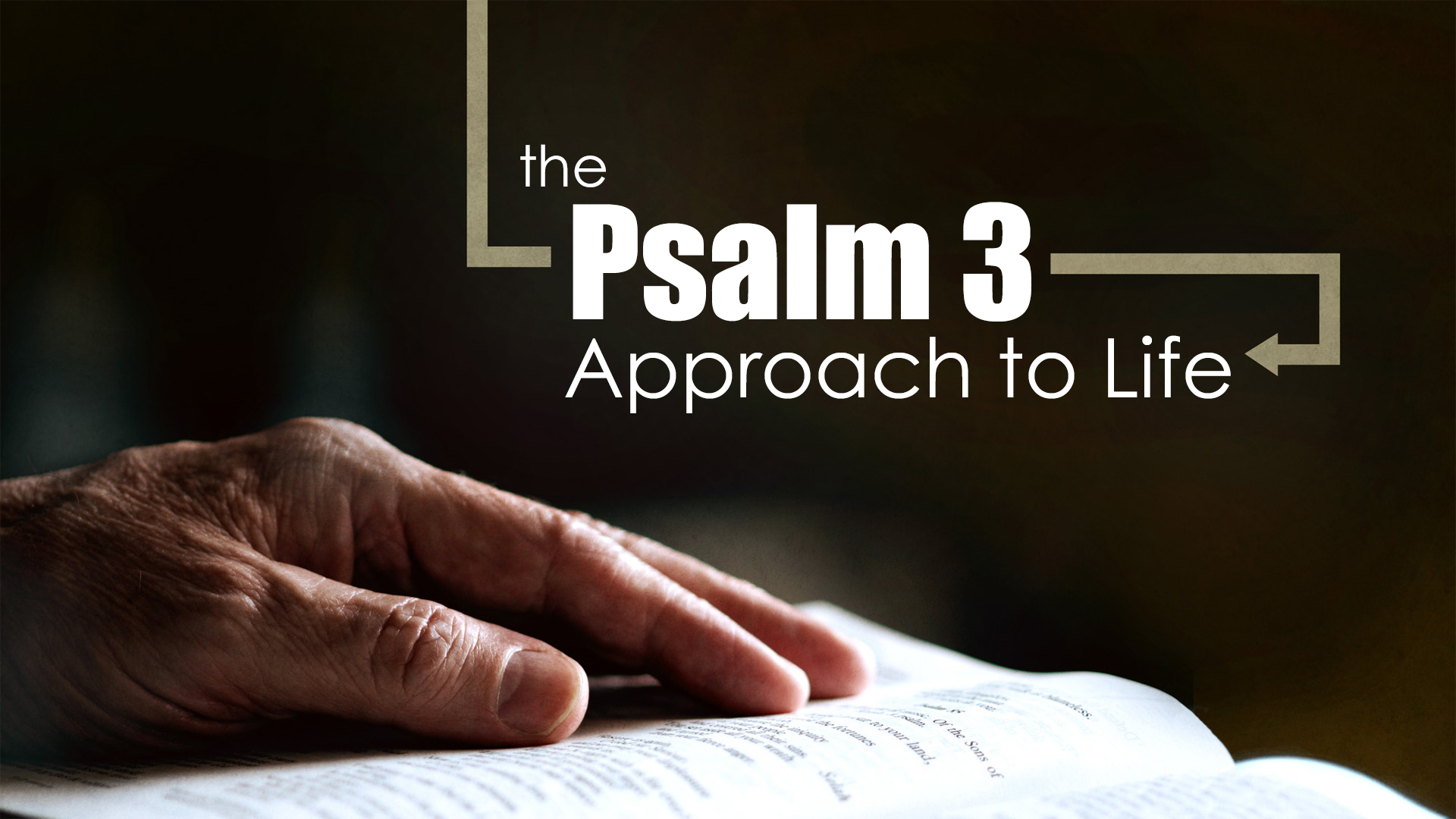 The Psalm 3 Approach to Life – In God's Image